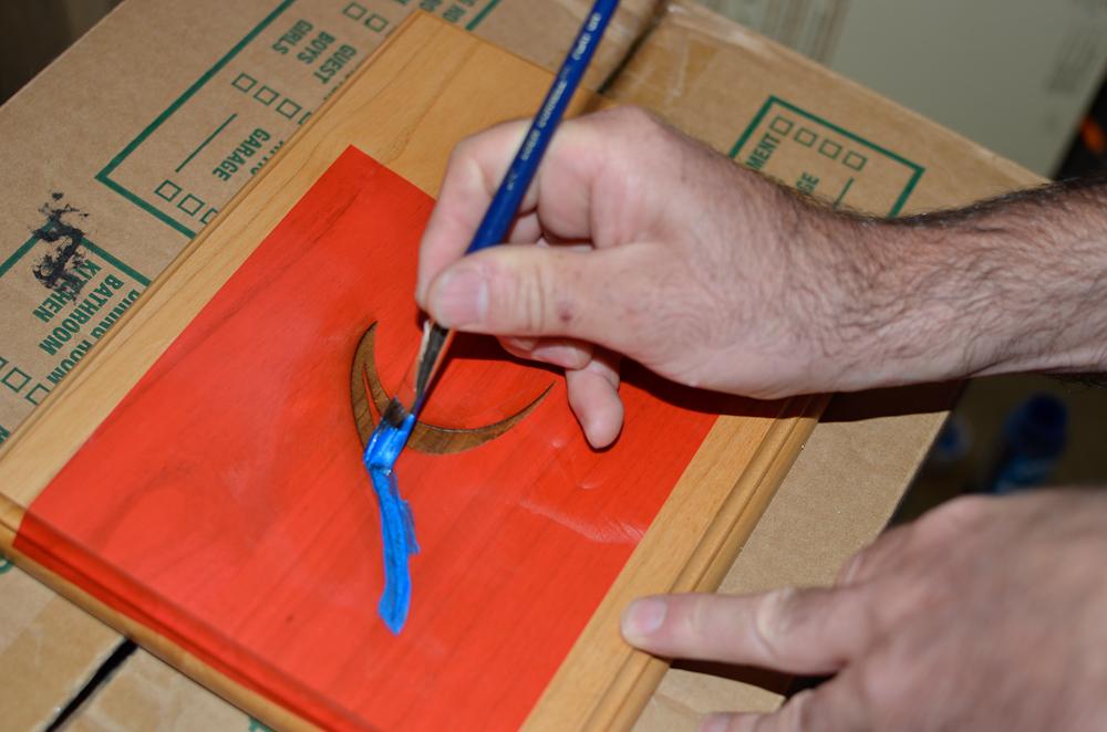 Laser engraving cutting marking