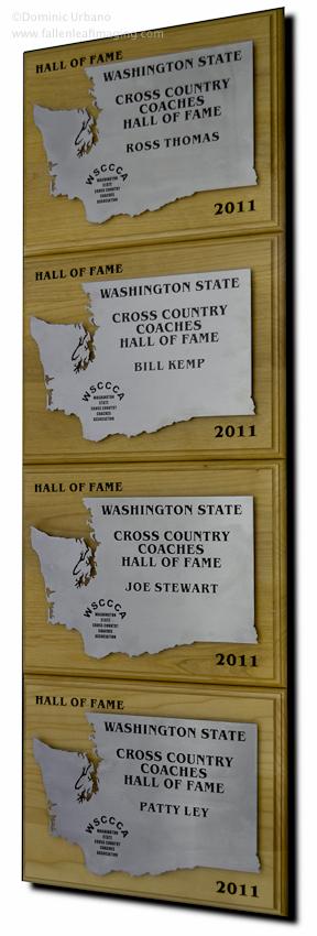 Washington coaches hall of fame awards